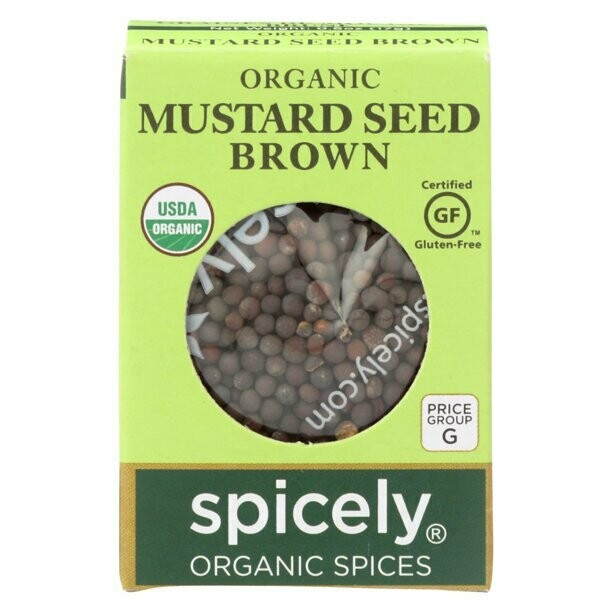 Organic Brown Mustard Seeds
