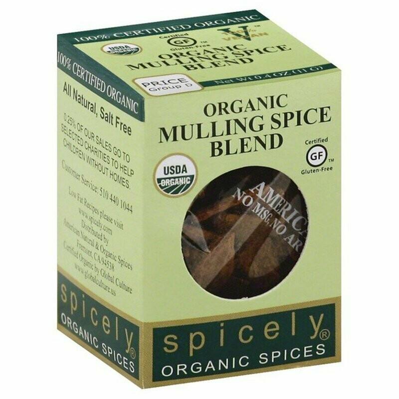 Organic Mulling Spice Blend