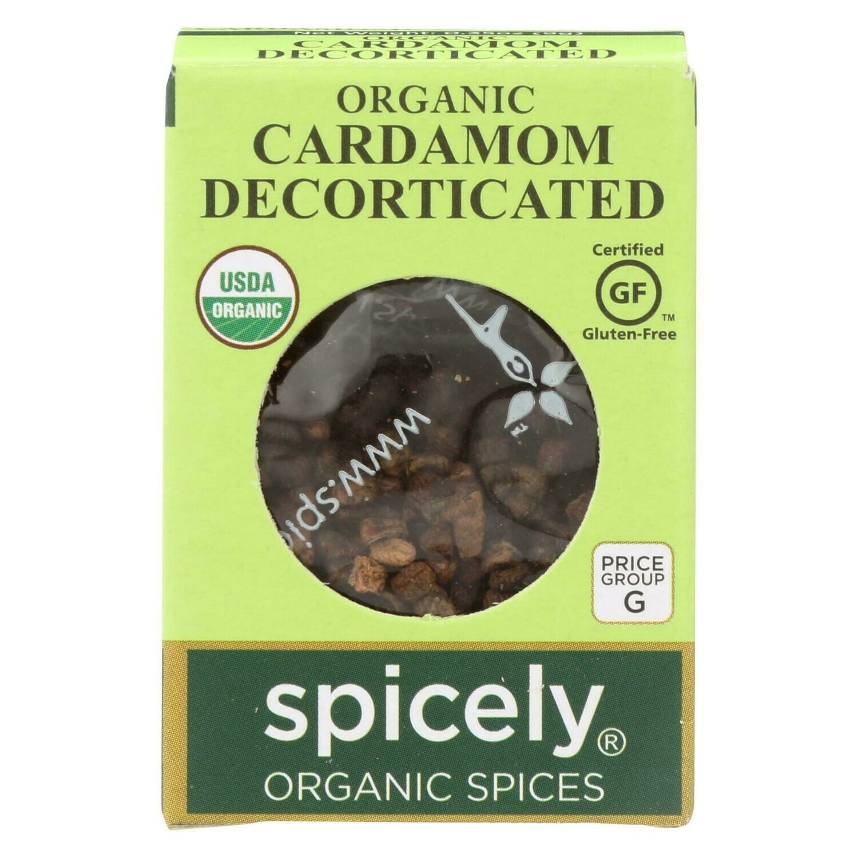 Organic Cardamom Decorticated
