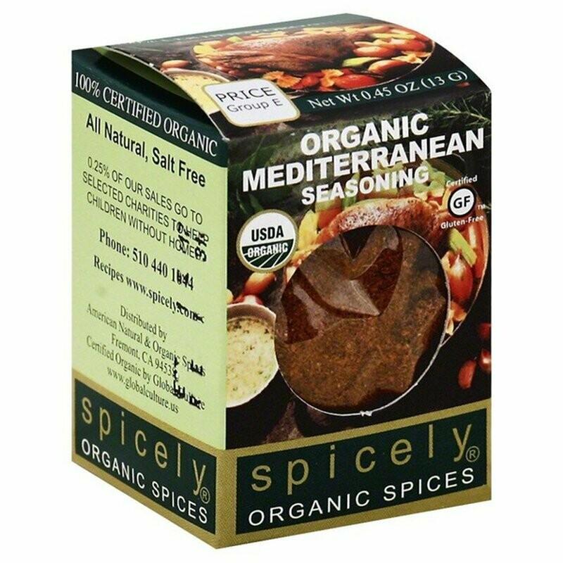 Organic Mediterranean Seasoning