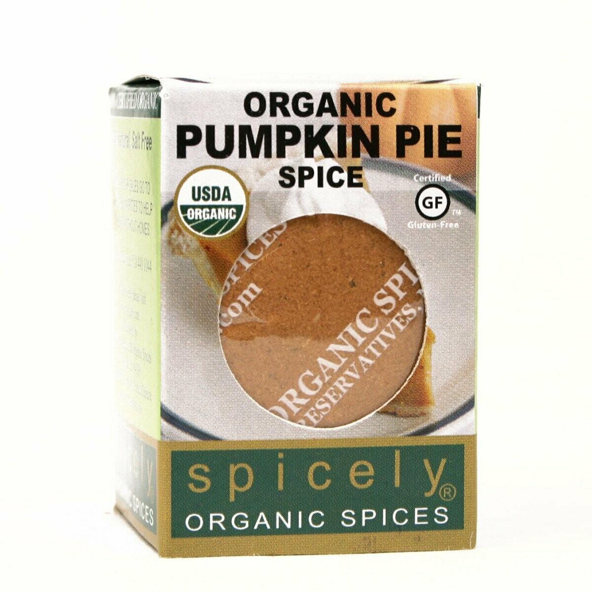 Organic Pumpkin Pie Spice