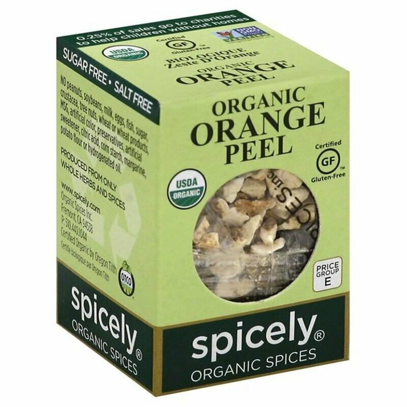 Organic Orange Peel