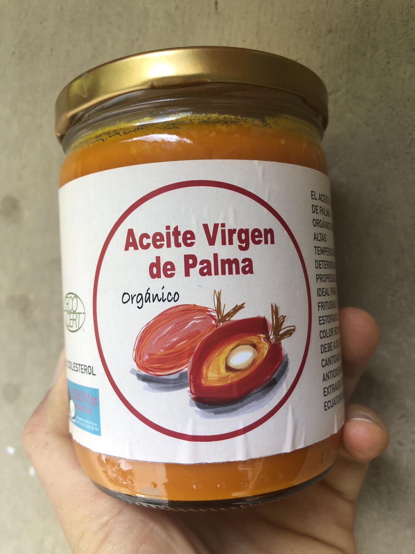 Aceite Virgen de palma OrgAnico