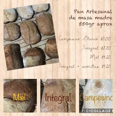 Pan campesino / blanco