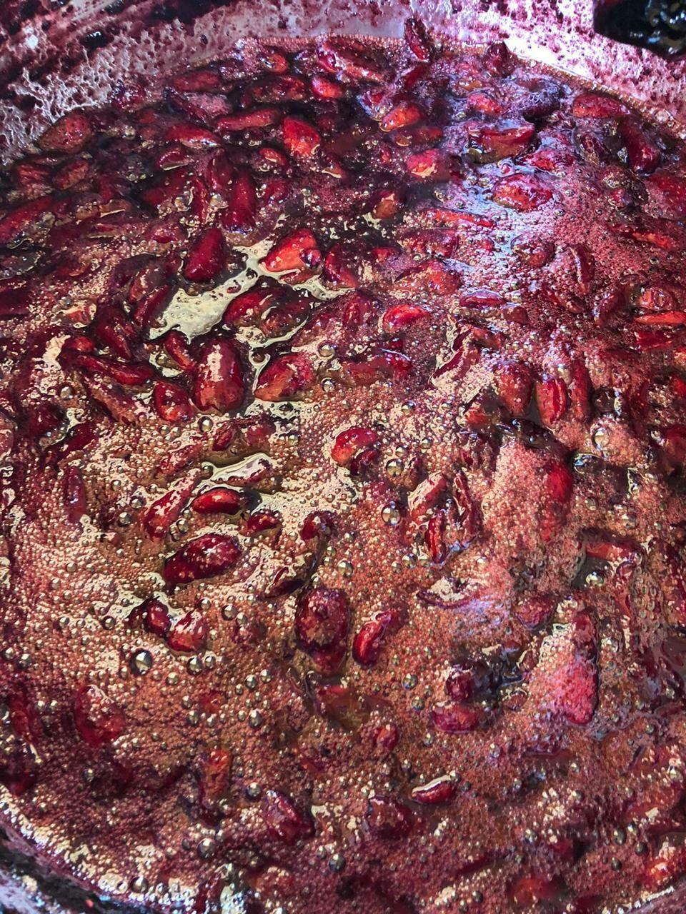 Mermelada frutos rojos (frutilla y morrillo)