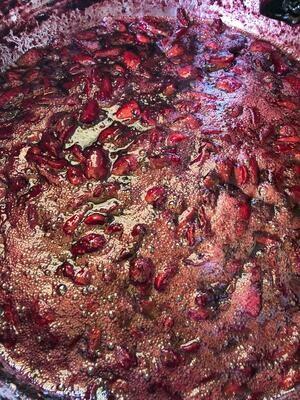 Mermelada frutos rojos (mora, mortiño, frutilla)