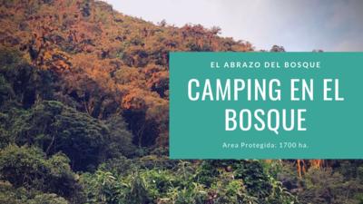 Camping en el Abrazo/pax/noche/autoguiado (niños1/2precio)
