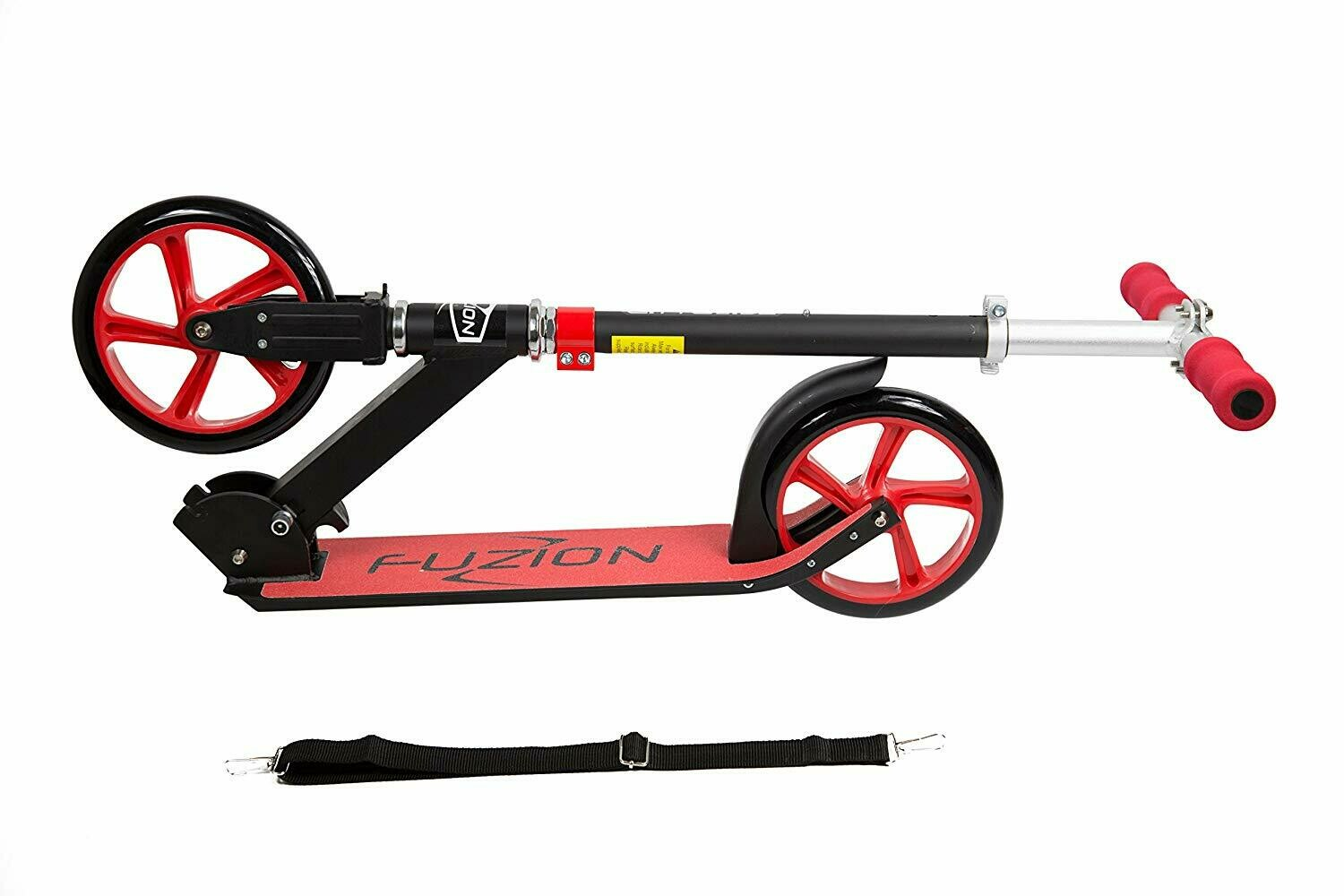 Fuzion Cityglide Adult Kick Scooter - Smooth, Pro Push Urban Scooters Adults, Commuter Scooters, City Scooters - Folding Scooter Adjustable T-Bar - Big Kids, Boys Girls (Max 220lbs)