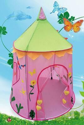 POCO DIVO Wonderland Princess Palace Fairy Castle Pink Play Tent