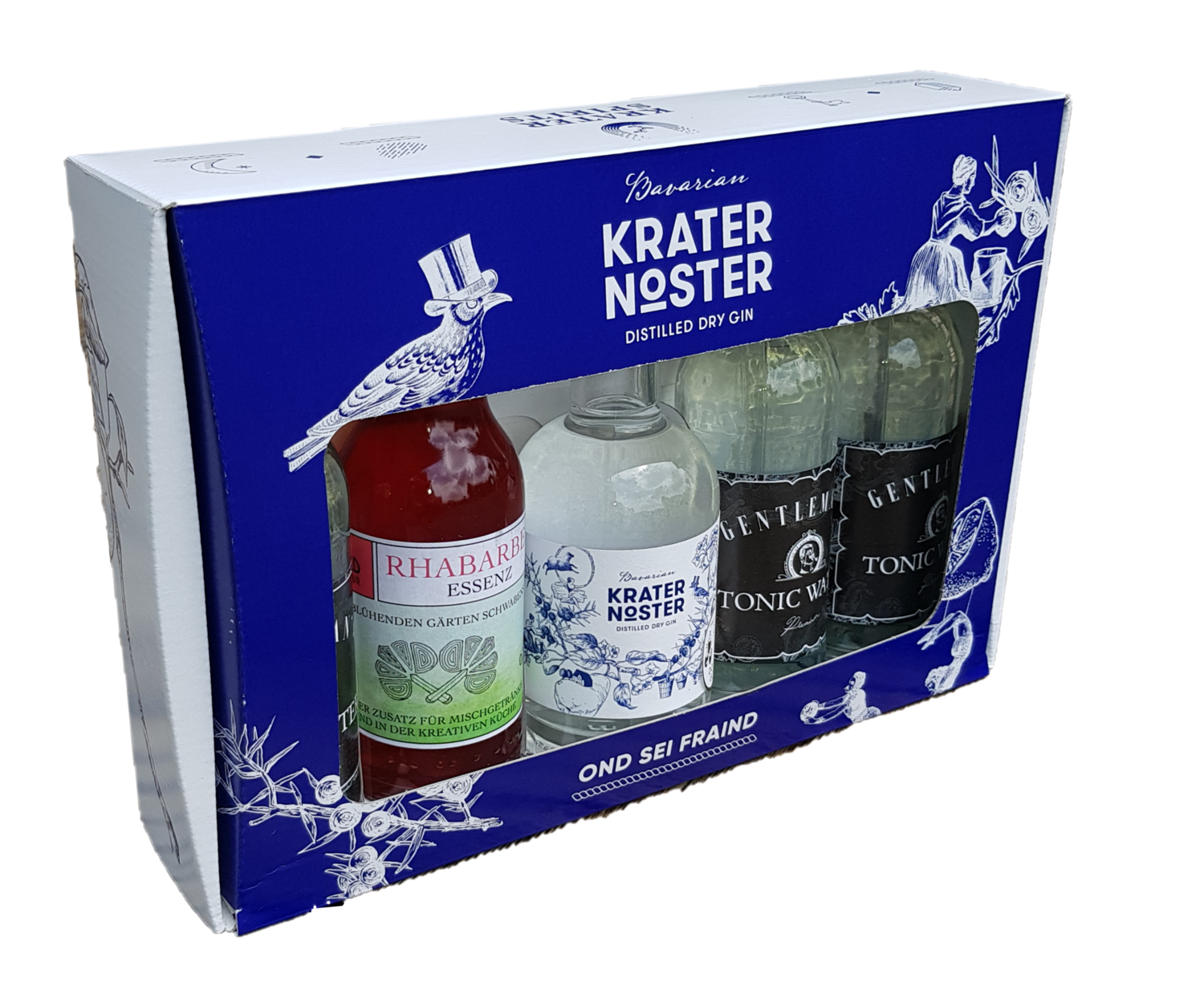 Krater Noster - Rhubarb-Gin-Tonic Set * limitierte Edition *