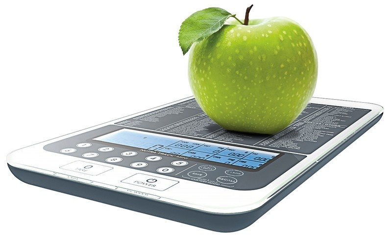 FREE SHIPPING: Mackie NutraTrack Mini Digital Kitchen Scale, Food Scale