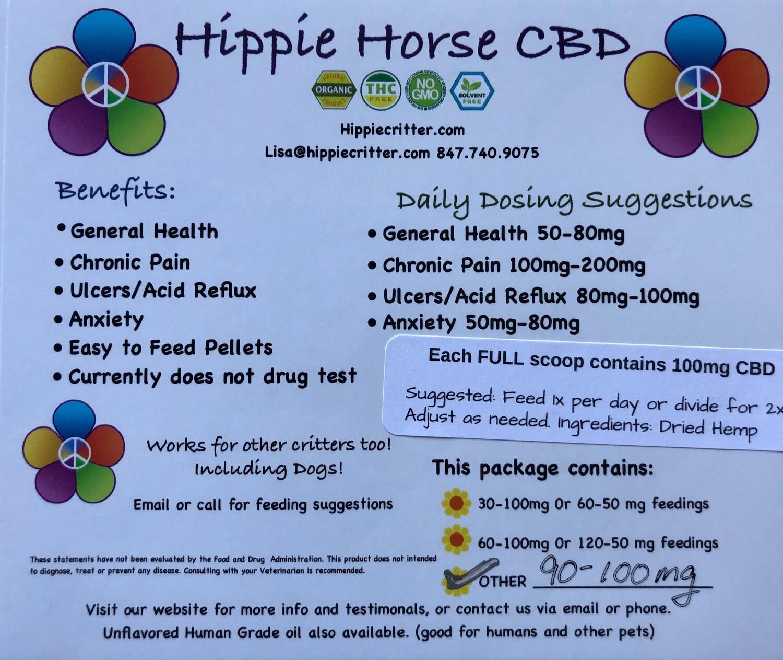 Hippie Horse 90 Servings