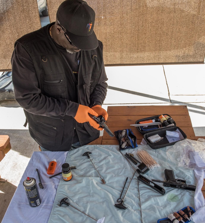 Gun Cleaning Workshop