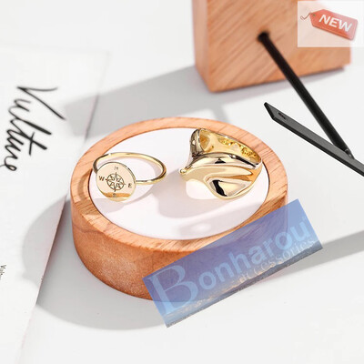 COMPASS GOLD No.7 RING