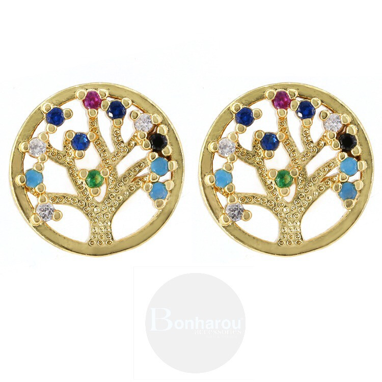 TREE FASHION EARRING