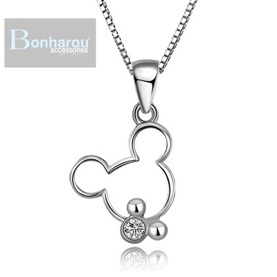 DIAMOND MICKEY  NECKLACE