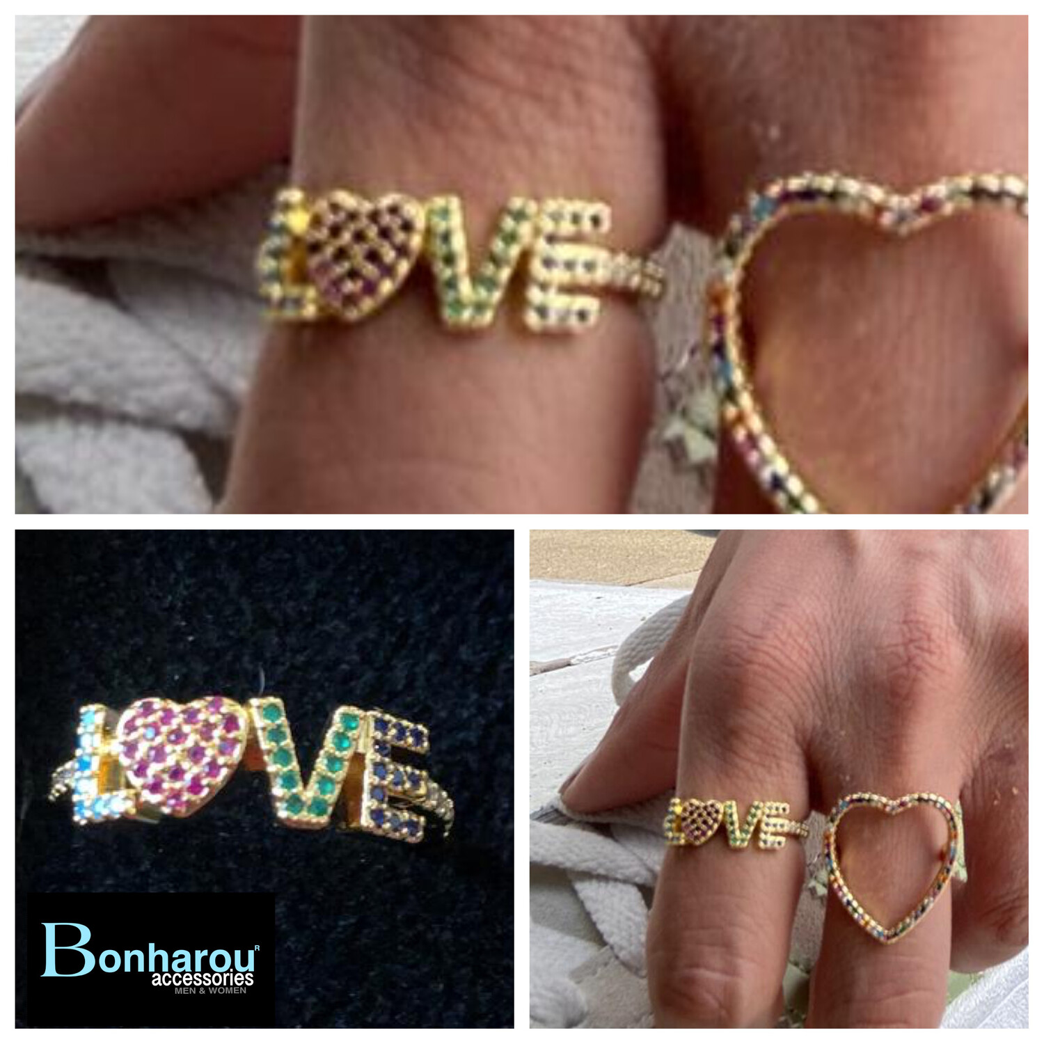 LOVE GOLD RING