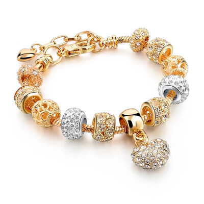 GOLD GIFT PANDORA BRACELET