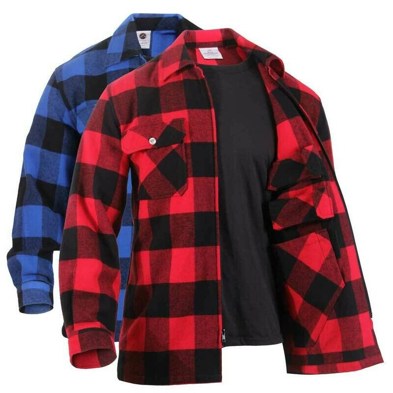 HEAVYWEIGHT CONCEALED CARRY FLANNEL SHIRT