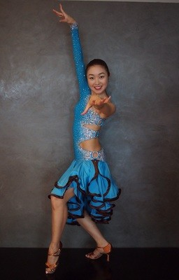 Latin Ballroom Competition Dress