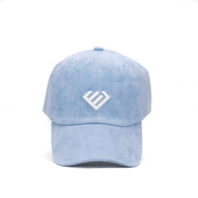 Euphoria - Baby Blue Suede Dad Hat