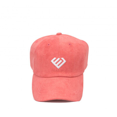 Euphoria - Salmon Suede Dad Hat