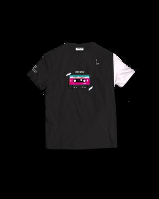 Apolo - Retro Cassette Black Shirt