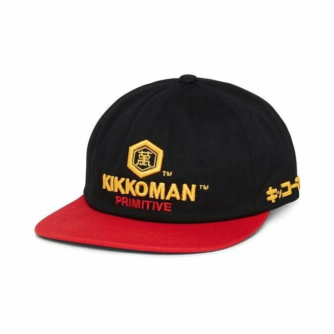 Primitive - Kikkoman x Primitive Skate Snapback Hat