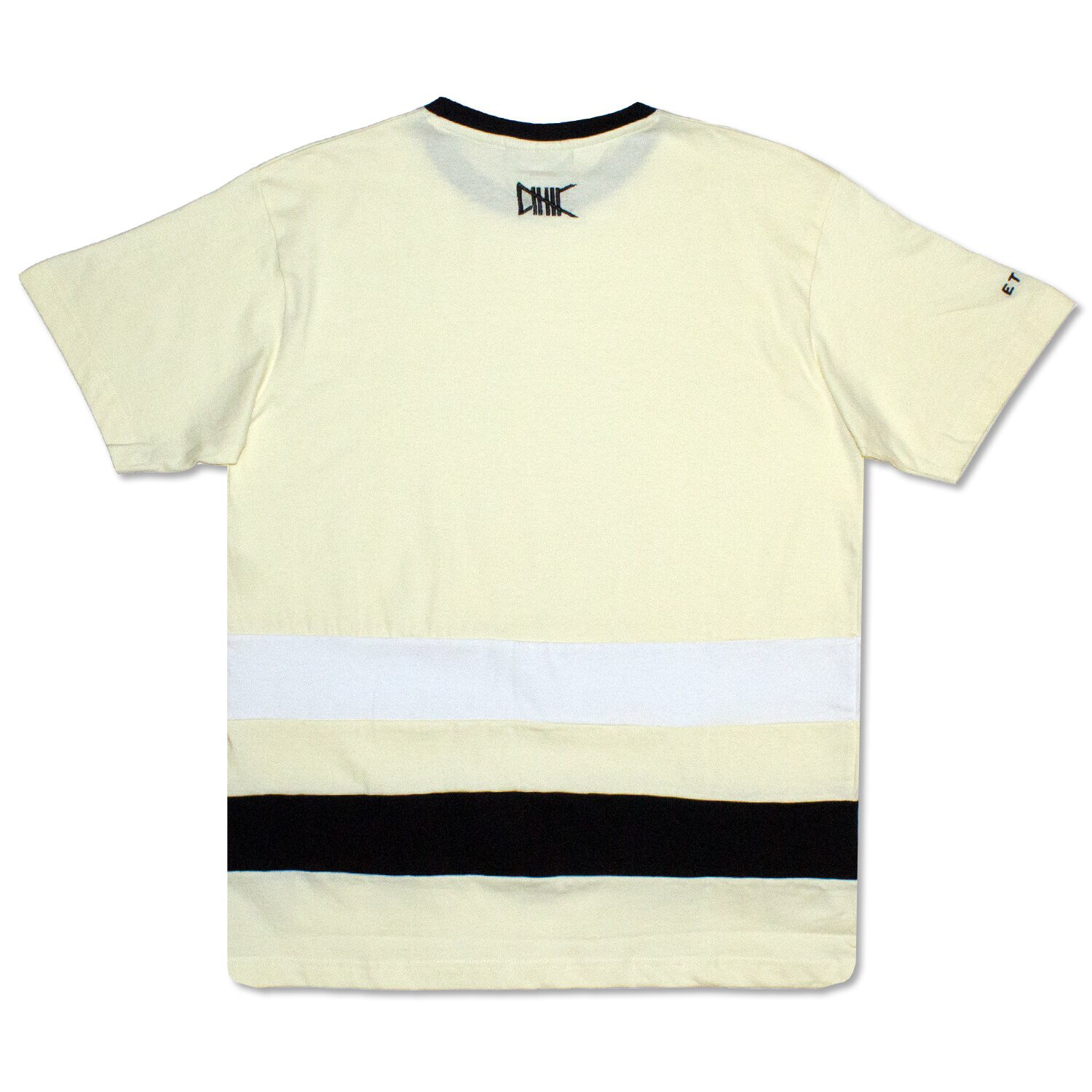 Ethik - Yellow/Black White Line Tee