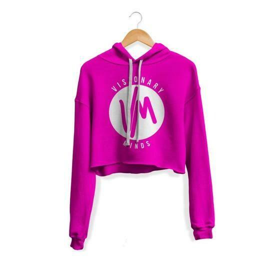 VM - Womens Pink Hoodie