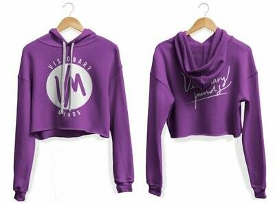 VM - Womens Purple Hoodie