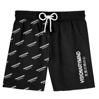 VM - Black Fantastic V Shorts