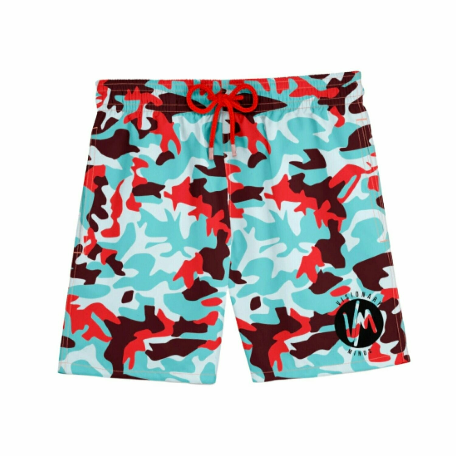 VM - Militia Bluered Short