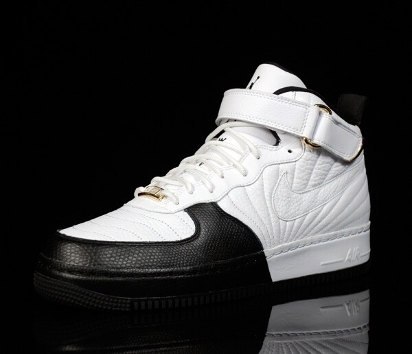 Air Jordan Force / AJF 12 (XII) – White / Black – Taxi