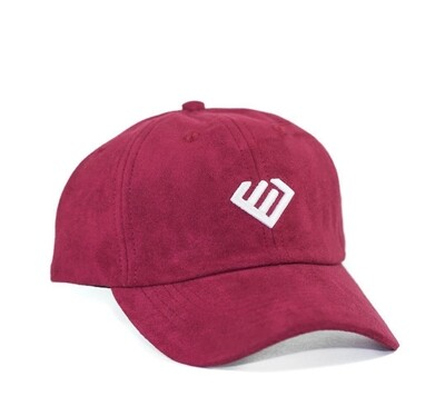Euphoria - Burgundy Suede Dad Hat