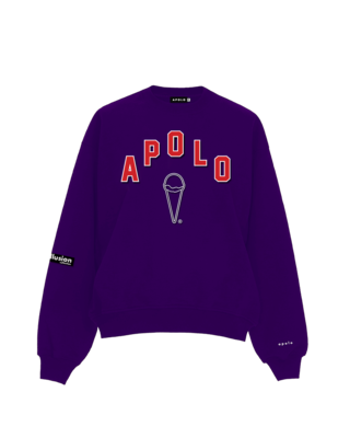 Apolo - High School Sweater Purple