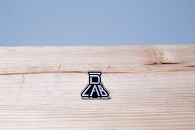 DLAB Logo 1 x 1 Acrylic Pin (Black)