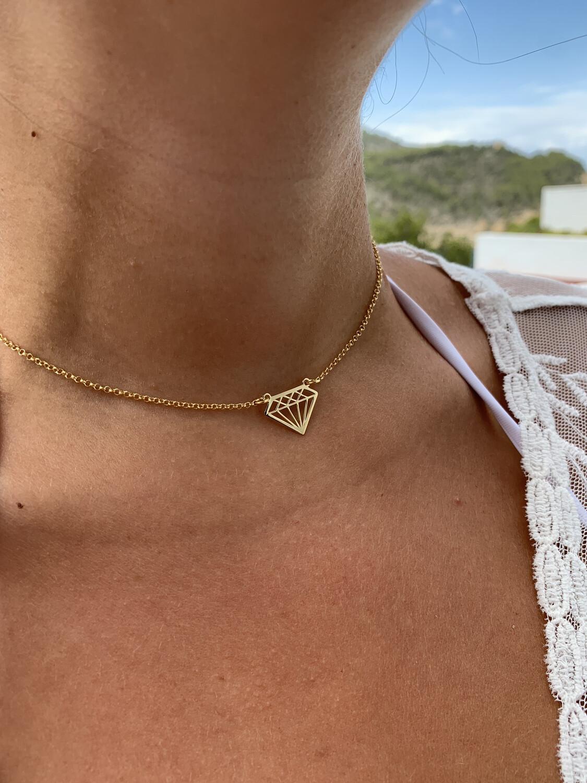 Collana Diamante Connettore