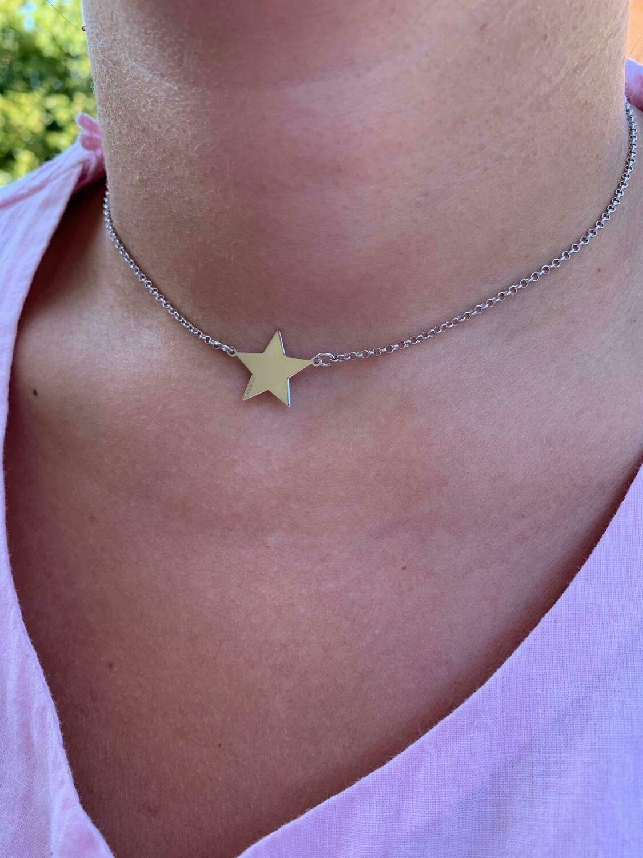 Collana stella connettore