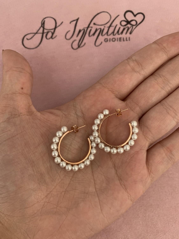 Orecchini Perle 2 cm