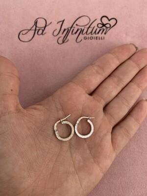 Orecchini Versace Piatti 1 cm