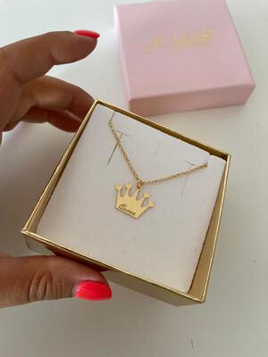 Collana corona personalizzabile