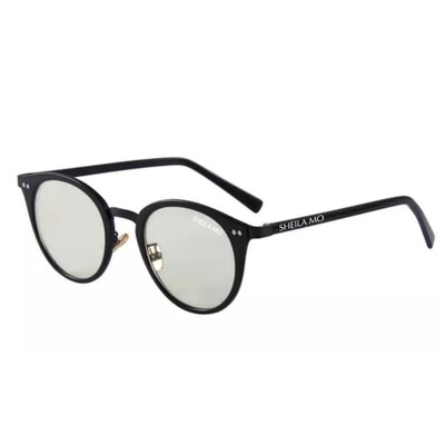 SHEILA MO Round Anti Blue Optical Frame