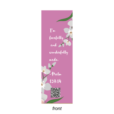 Bookmark-I'm Wonderful | Blush Pink