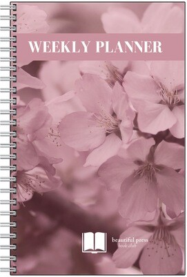 Weekly Planner Notebook By Beautiful Press Book Club (New & Improved)