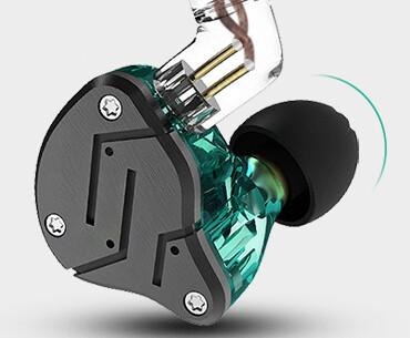 KZ ZSN Earphones Sport Style Iron