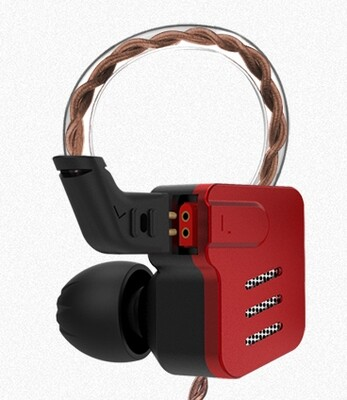 KZ BA10 HiFi Earphones High Quality Wired