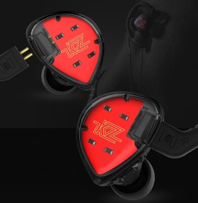 KZ ES4 Earphones HiFi 40000Hz