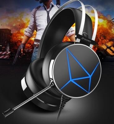 Gaming Headset 7.1 Dareu EH722 Black