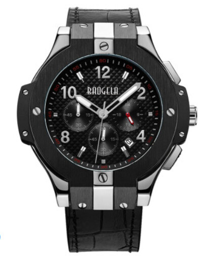 Baogela Men Watch Stylish 2020 Fashion Rubber Band